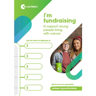 Fundraising Target Poster