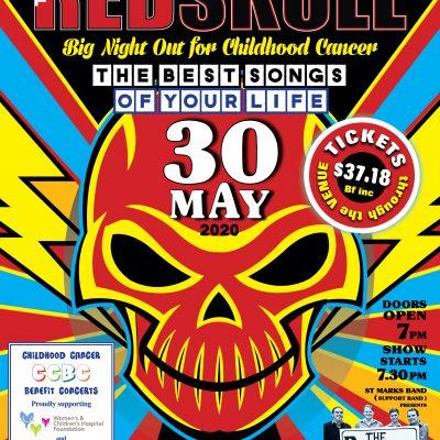 Childhood Cancer Benefit Concerts present premier Adelaide band, The Red Skull.